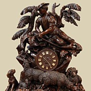 Exceptional Black Forest Clock