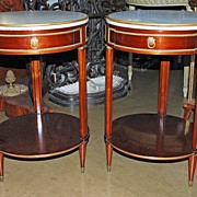 """Pair of French Louis XII Style Tables By """"Jensen"""""""