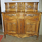 Wonderful Louis XV Style Provencal Buffet a Glissant