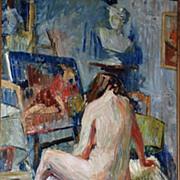 """""""The Artist Model"""",  Lucienne Vandervinnen"""