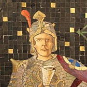 Knight Panel of Opus Sectile
