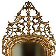 SOLD 18th Century Italian Gilt Mirror
