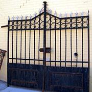 Grande Italian Iron Entry Gates