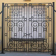 Substantial  Pair of French Entry Gates