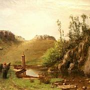 Oil on Canvas, Cherubino Pata