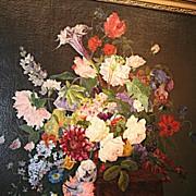 """Still Life with Flowers"", Alexis De Ghequier"