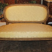19th Century French Louis XVI Canape