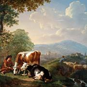 Oil on Canvas, Jean Charles Carpentero
