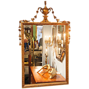 SOLD Pair of French Neoclassical Giltwood Mirrors