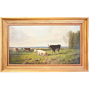 Oil on Canvas, Alfred Robert Quinton