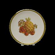 Pineapple and Strawberry Salad Plate Jaegar Germany