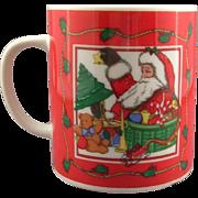 The Cook's Bazaar Set of Four Christmas Santa Mugs