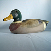 Herter's Decorative Mallard Drake Duck Decoy