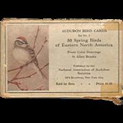 SOLD Audubon Bird Cards - Fifty Spring Birds of Eastern North America