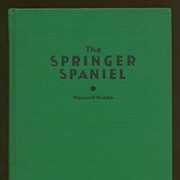 The Springer Spaniel - 1939 Book
