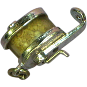 Sterling Silver Pencil Sharpener Moving Charm