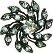 SALE 50% OFF SALE Rhinestones New Old Stock Fashion Costume Cocktail Ring