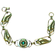 Gold Filled and Sterling Silver Scrumptious Floral Bracelet