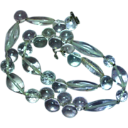 Sterling Silver Rock Crystal Pools of Light Necklace