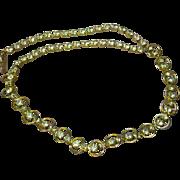 Rhinestones Sparkling, Bright Vintage  Necklace