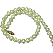 Pearls Freshwater Baroque Cultured Pearl Single Strand Necklace