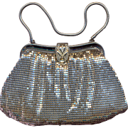 Whiting and Davis Silver Mesh Purse