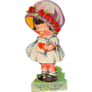 Vintage Articulated Valentine