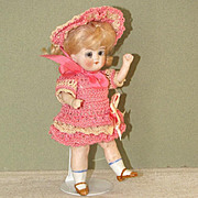 """5 1/2"""" Limbach 'P610' All Bisque Doll ~ Cute and Childlike!"""