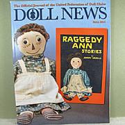 Doll News ~ Fall 2015 ~ Many Informative Articles!  Free shipping!