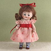 """3 1/2"""" Kestner '330-8' Googly All Bisque Toddler Doll"""