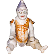 """3 1/4"""" Early Polichinelle All Bisque Doll"""