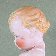 """SALE Rare 6 3/4"""" SCOOTLES All BIsque Doll ~ Rose O""""Neill, 1925"""