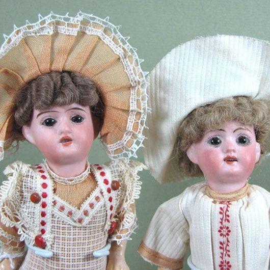 7 Quot Pair Goebel Dolls Factory Original Boy Amp Girl