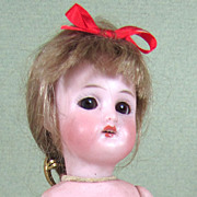"SALE 6"" All Bisque Simon & Halbig 890 Girl ~ Sleep eyes, Fully Jointed"