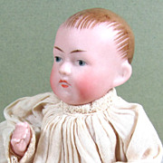 "4 5/8"" All Bisque Kestner Character Baby ~ Marked '830   2 3/4'"