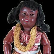 "SALE 7"" Gbr Kuhnlenz Hawaiian Girl Doll ~ Factory Original!"