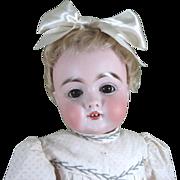 "SOLD Darling 14"" Brown Eyed Antique Kestner 143 Child Doll ~ Very Sweet!"