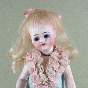 """SALE 4 1/4"""" Simon & Halbig Mignonette All Bisque Doll"""