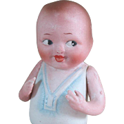 "4 1/4"" Nippon BABY BUD All Bisque Doll"