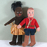 """SALE 2 Dolls by Norah Welling ~ Made in England ~ both 6 1/2"""""""