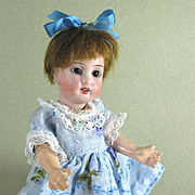 """REDUCED Cute 5 3/4"""" Gbr Kuhnlenz 44-14 Bisque Head Doll ~ Dollhouse Size"""