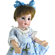 "REDUCED Cute 5 3/4"" Gbr Kuhnlenz 44-14 Bisque Head Doll ~ Dollhouse Size"