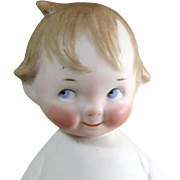 """REDUCED 4 3/4"""" Reproduction of Kestner """"Peterkin"""" ~ very cute all bisque charac"""
