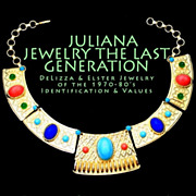 SOLD New Book Juliana Jewelry of D&E 1970-80's The Last Generation
