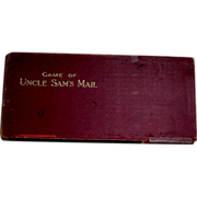 SALE Game of Uncle Sam's Mail - McLoughlin 1893