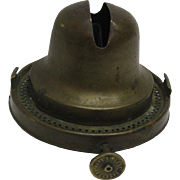 Scarce 1877 Blackman Oil Lamp Burner