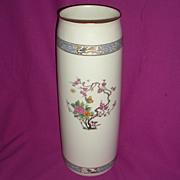 """Lenox Ming Huge Porcelain vase 16"""" vintage"""