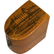 SOLD Mauchline Thimble Case Lake Placid New York