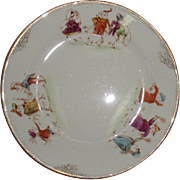 Palmer Cox Brownies on porcelain plate
