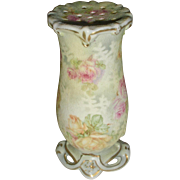 Royal Bayreuth Tapestry Hatpin Holder Amer. Beauty Rose